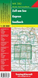 Karta wk 382 Zell am See Saalbach